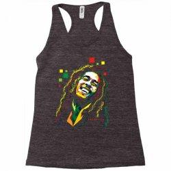 Bob Marley Rasta way in Racerback Tank | Artistshot