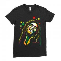 Bob Marley Rasta way in Ladies Fitted T-Shirt | Artistshot