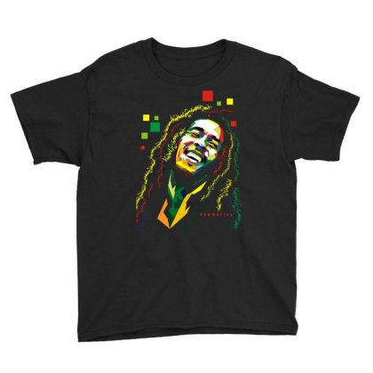Bob Marley Rasta Way In Youth Tee Designed By Mdk Art