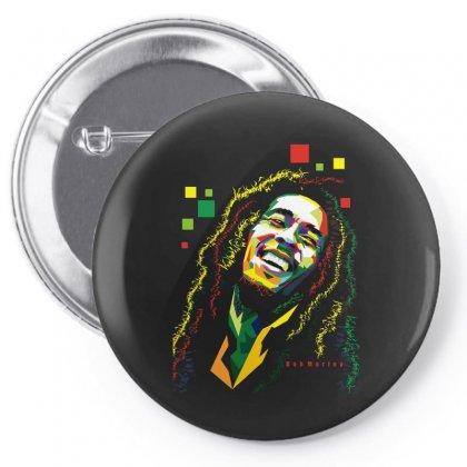 Bob Marley Rasta Way In Pin-back Button Designed By Mdk Art
