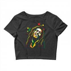 Bob Marley Rasta way in Crop Top | Artistshot