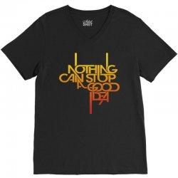 nothing V-Neck Tee   Artistshot