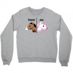 them & me unicorn style Crewneck Sweatshirt | Artistshot