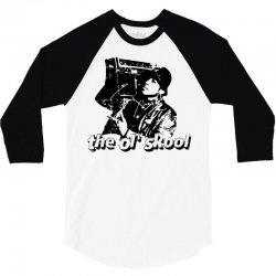 the old school 3/4 Sleeve Shirt | Artistshot