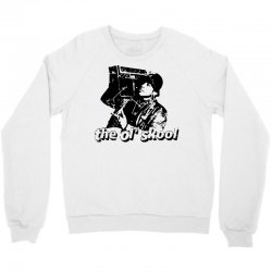 the old school Crewneck Sweatshirt | Artistshot