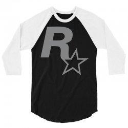 rock star 3/4 Sleeve Shirt | Artistshot