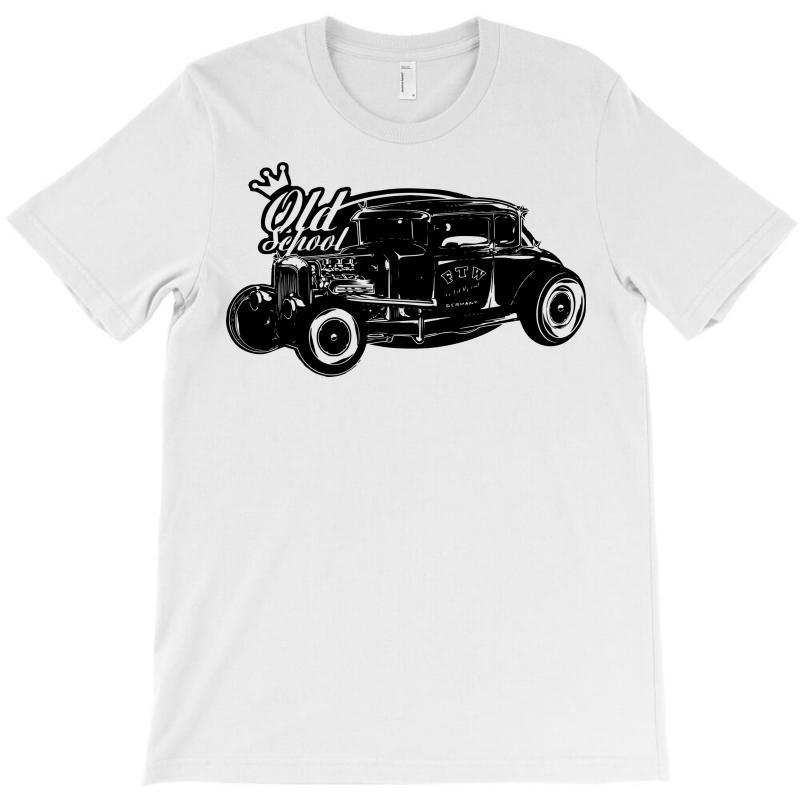 Old School Hot Rod T-shirt | Artistshot