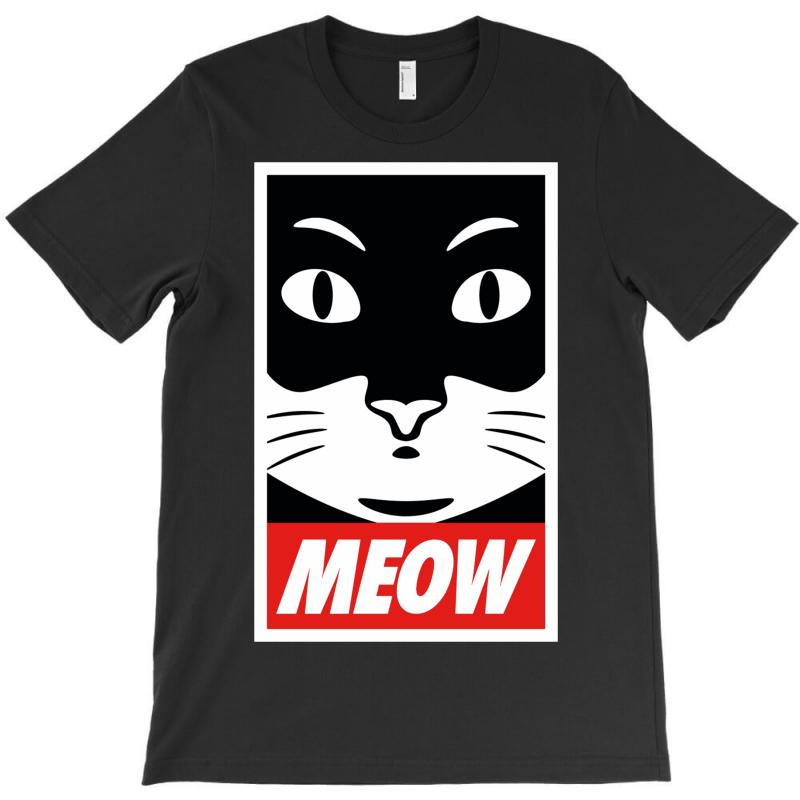 Meow Supreme Edition T-shirt | Artistshot