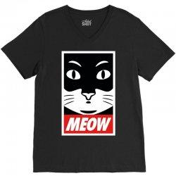Meow Supreme Edition V-Neck Tee | Artistshot