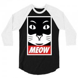 Meow Supreme Edition 3/4 Sleeve Shirt | Artistshot