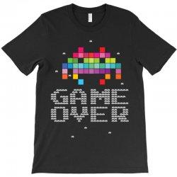 Game Over Pixel 8 bit T-Shirt | Artistshot