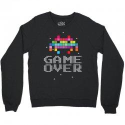 Game Over Pixel 8 bit Crewneck Sweatshirt | Artistshot