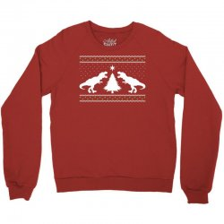T-Rex Dinosaur Christmas Sweater Crewneck Sweatshirt | Artistshot