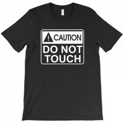 do not touch the belly maternity T-Shirt | Artistshot