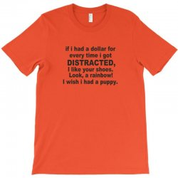 distracted funny T-Shirt | Artistshot