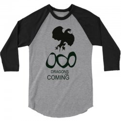 dragons are coming 3/4 Sleeve Shirt | Artistshot