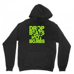 dub step drop beats not bombs black light skrillex ink hiphop dance Unisex Hoodie | Artistshot