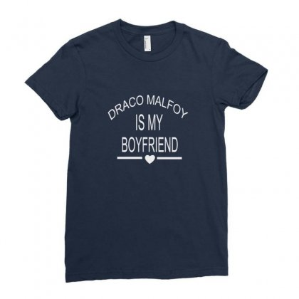 Draco Malfoy Is My Boyfriend Ladies Fitted T-shirt Designed By Permatasarisekar