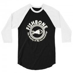 fishbone band logo 3/4 Sleeve Shirt | Artistshot