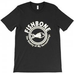 fishbone band logo T-Shirt | Artistshot