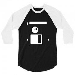 floppy disk diskette back 3/4 Sleeve Shirt | Artistshot