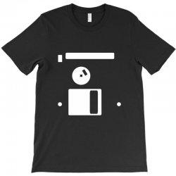 floppy disk diskette back T-Shirt | Artistshot