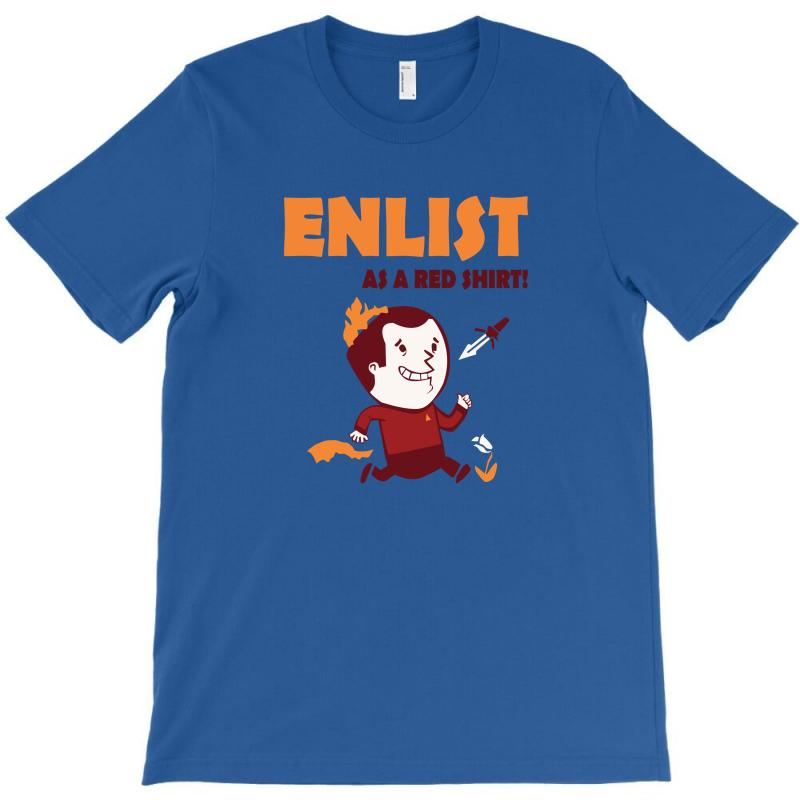 Enlist T-shirt | Artistshot