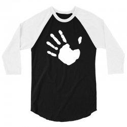 fringe hand 3/4 Sleeve Shirt | Artistshot