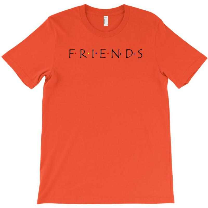 Friends Logo Spoof T-shirt | Artistshot