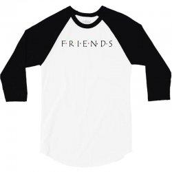 friends logo spoof 3/4 Sleeve Shirt | Artistshot
