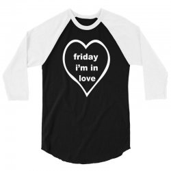 friday i'm in love 3/4 Sleeve Shirt | Artistshot