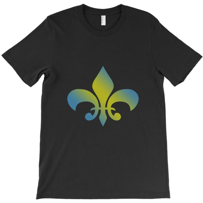 French T Shirt For Men Women And Kids Vintage Francais Fleur Des Lis H T-shirt | Artistshot