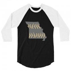 free shipping missouri baseball mens 3/4 Sleeve Shirt | Artistshot