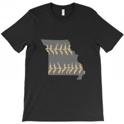 free shipping missouri baseball mens T-Shirt | Artistshot