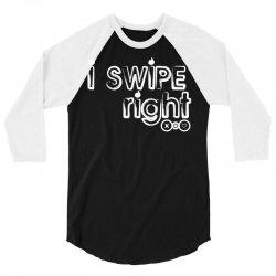 i swipe right 3/4 Sleeve Shirt | Artistshot