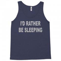 i'd rather be sleeping Tank Top   Artistshot