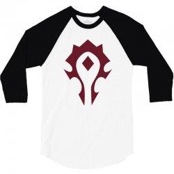 horde 3/4 Sleeve Shirt | Artistshot