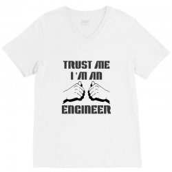 i'm an engineer V-Neck Tee | Artistshot
