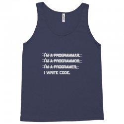 i'm a programmer computer code Tank Top | Artistshot