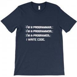 i'm a programmer computer code T-Shirt | Artistshot