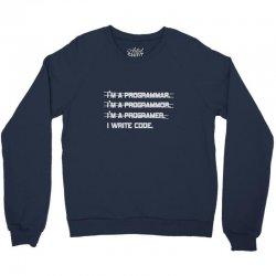 i'm a programmer computer code Crewneck Sweatshirt | Artistshot
