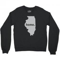 illinois home Crewneck Sweatshirt | Artistshot