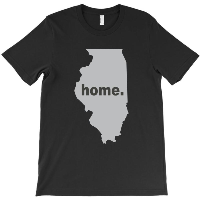 Illinois Home T-shirt | Artistshot