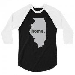 illinois home 3/4 Sleeve Shirt | Artistshot