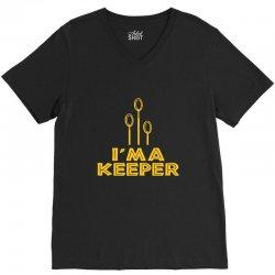 i'm a keeper1 V-Neck Tee | Artistshot