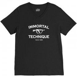 immortal technique V-Neck Tee   Artistshot