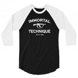 immortal technique 3/4 Sleeve Shirt   Artistshot
