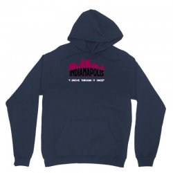 indianapolis i drove through it once Unisex Hoodie | Artistshot