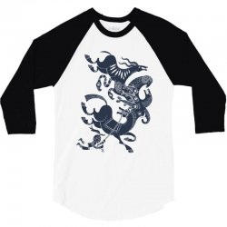 it's just my imagination running away with me 3/4 Sleeve Shirt   Artistshot