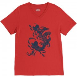 it's just my imagination running away with me V-Neck Tee   Artistshot